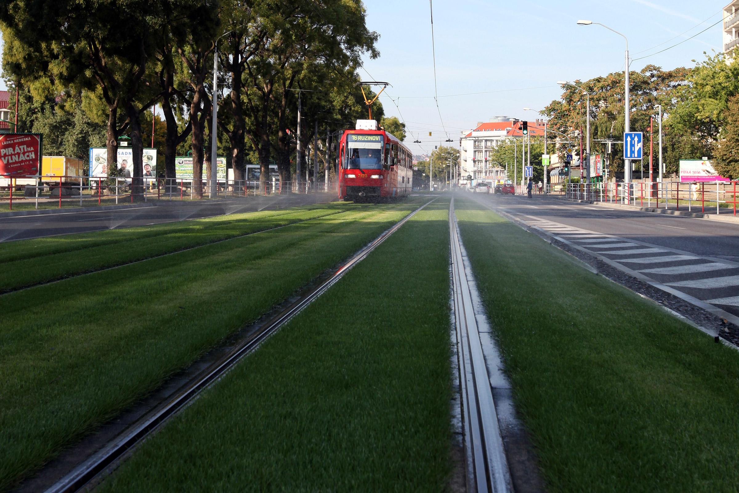 Električková trať - Záhradnícka ulica